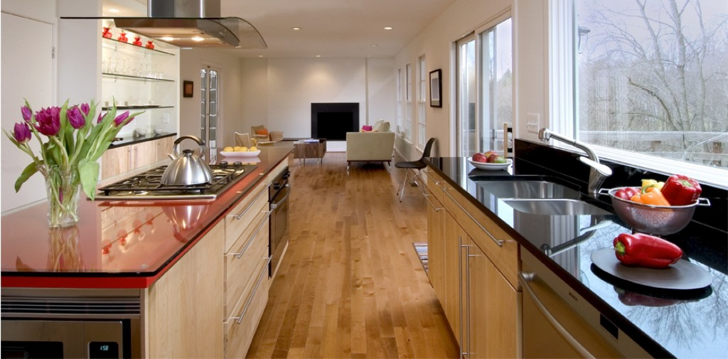 Contemporary Kitchen and Family Room Remodel and Addition
