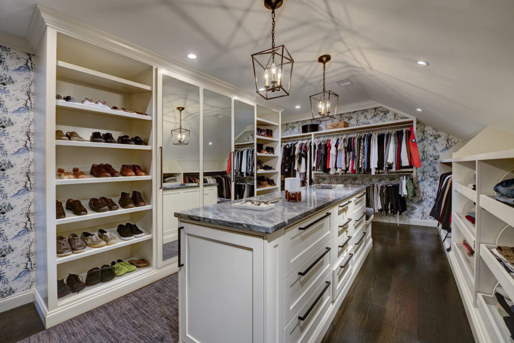 New Master Suite Luxury Walk-In Closet