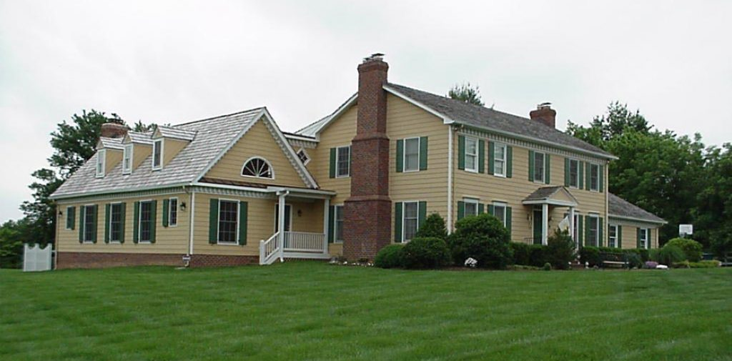 Substantial Colonial Cape Cod Addition