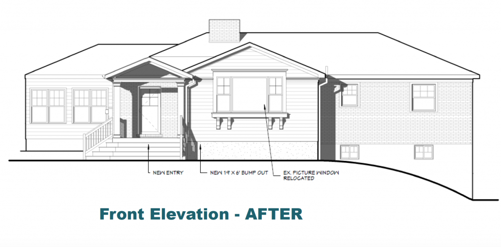 Elevation After Whole House Remodel