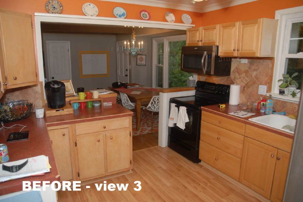 Before Kitchen and Whole House Remodel