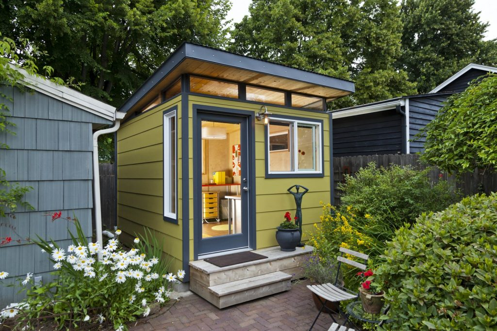 MODERN SHE SHED (PHOTO COURTESY OF DWELL.COM)