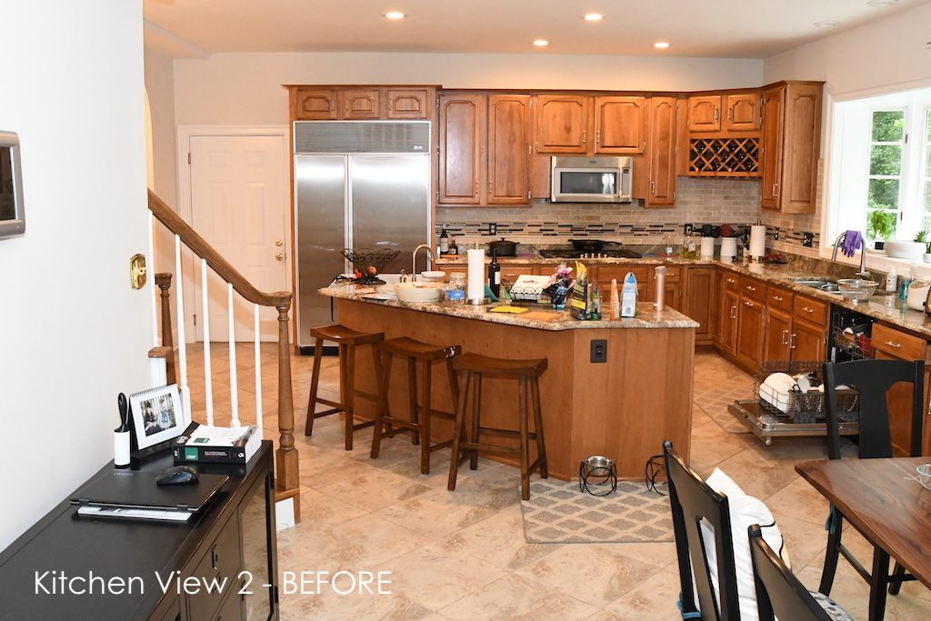 Kitchen Remodel Before View 2