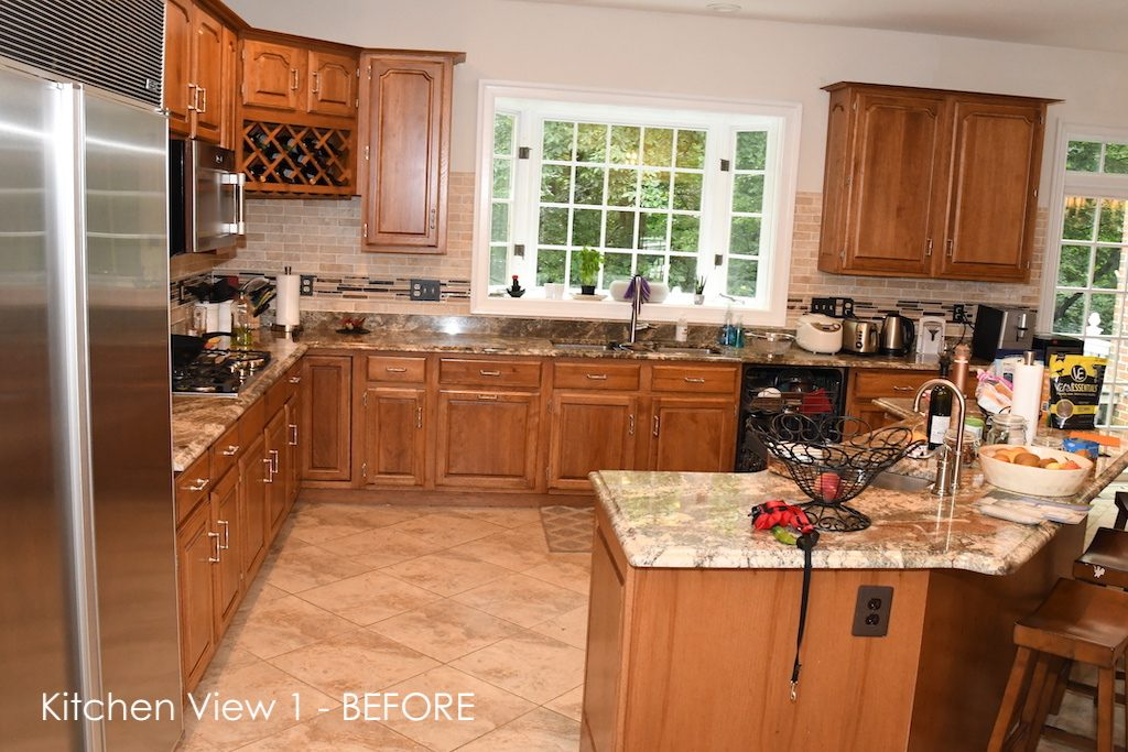 Kitchen Remodel Before View 1