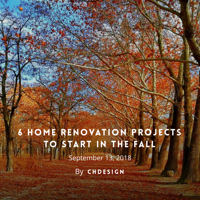 Fall Home Remodeling Northern Virginia