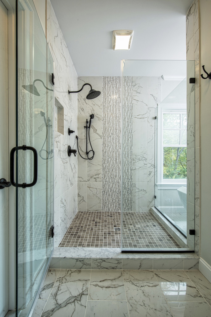 Spa-Like Master Bath Shower