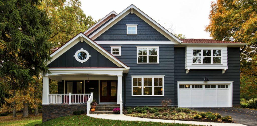 New Craftsman Home Exterior