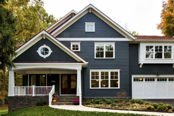 New Craftsman Home Exterior