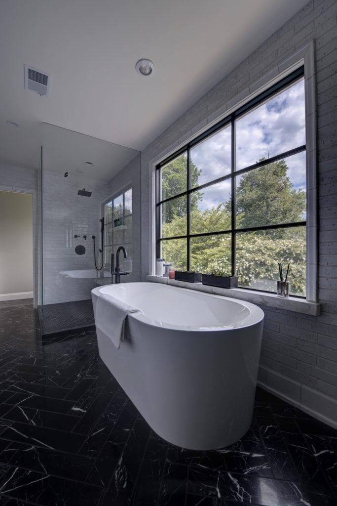 New Master Bathroom Design Second Floor Remodel