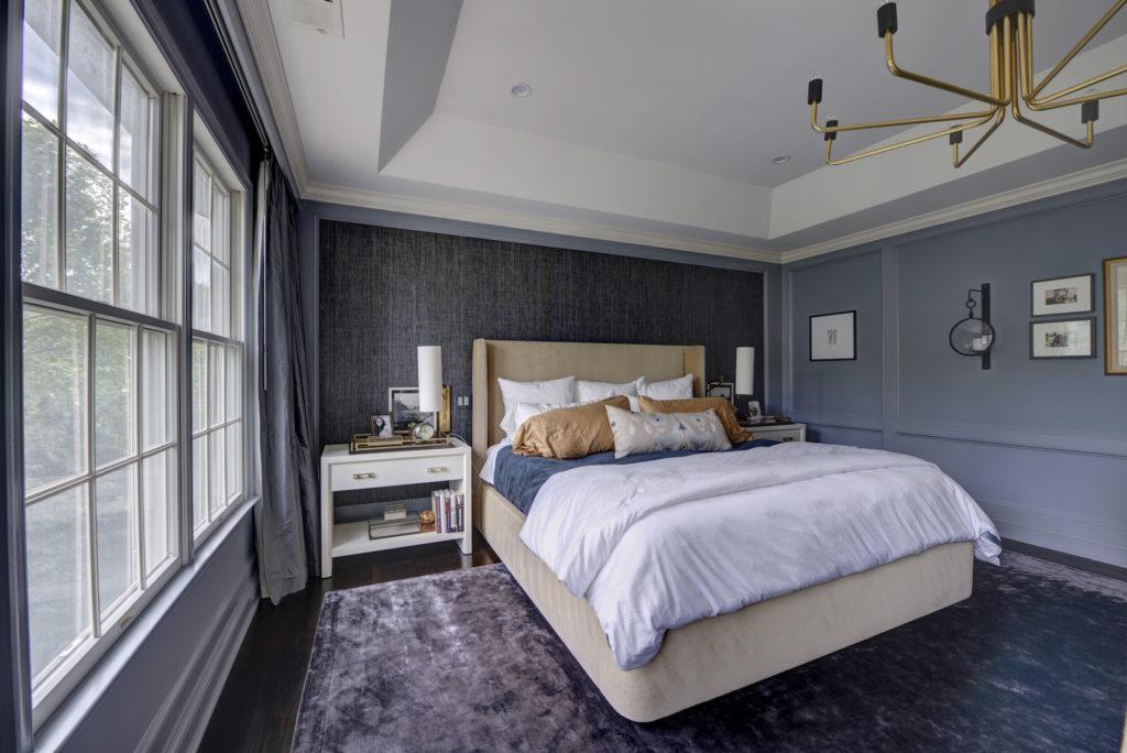 Renovated Master Bedroom Second Floor Home Remodel