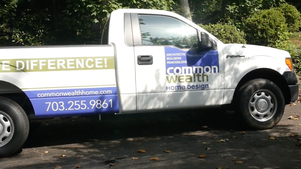 Commonwealth Home Remodeling Truck