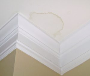 Water Stain on Ceiling Roofing Problems