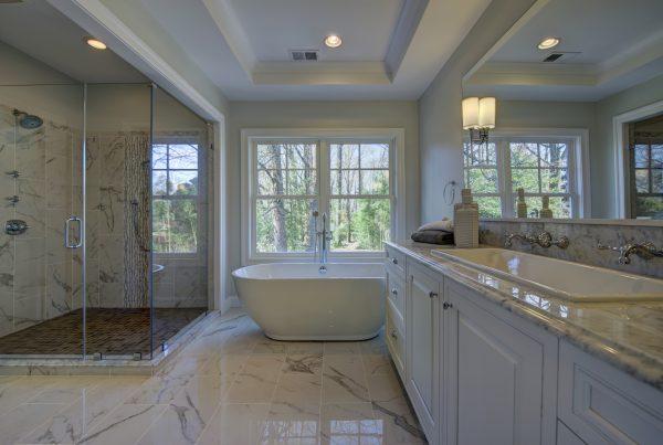 New Master Bathroom Design